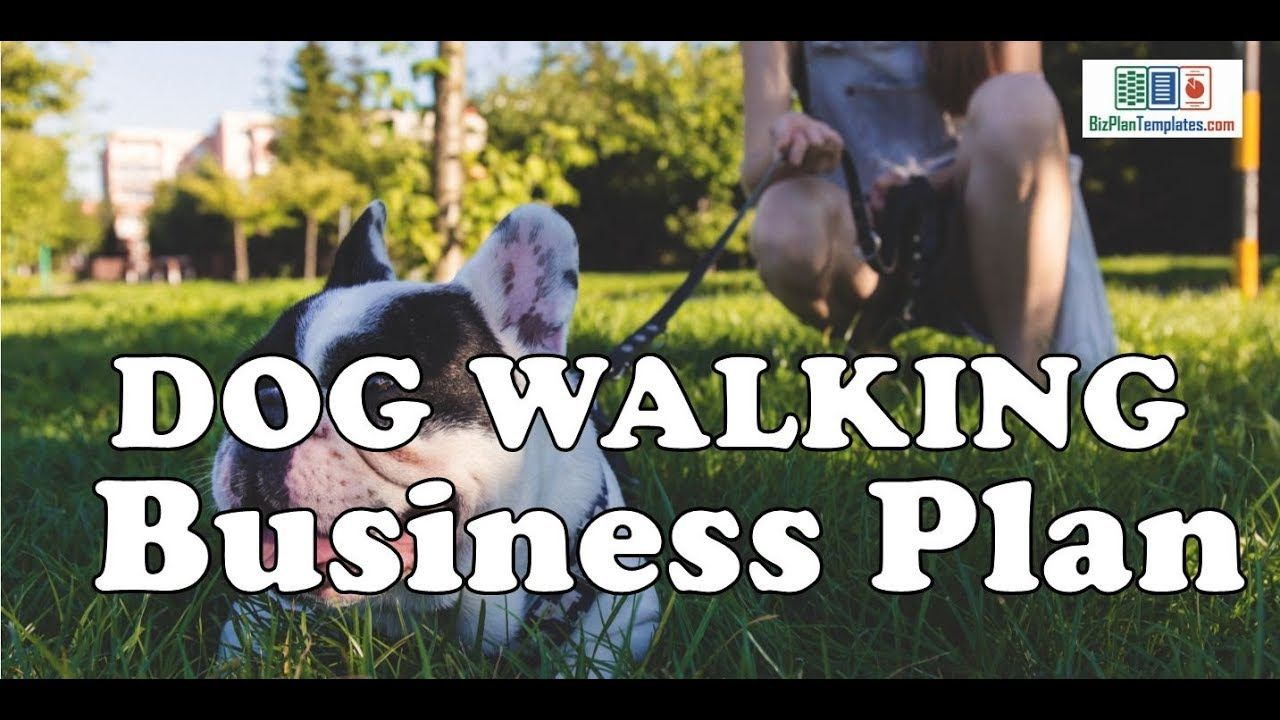 Dog Walking Business Plan Template With Example And Sample