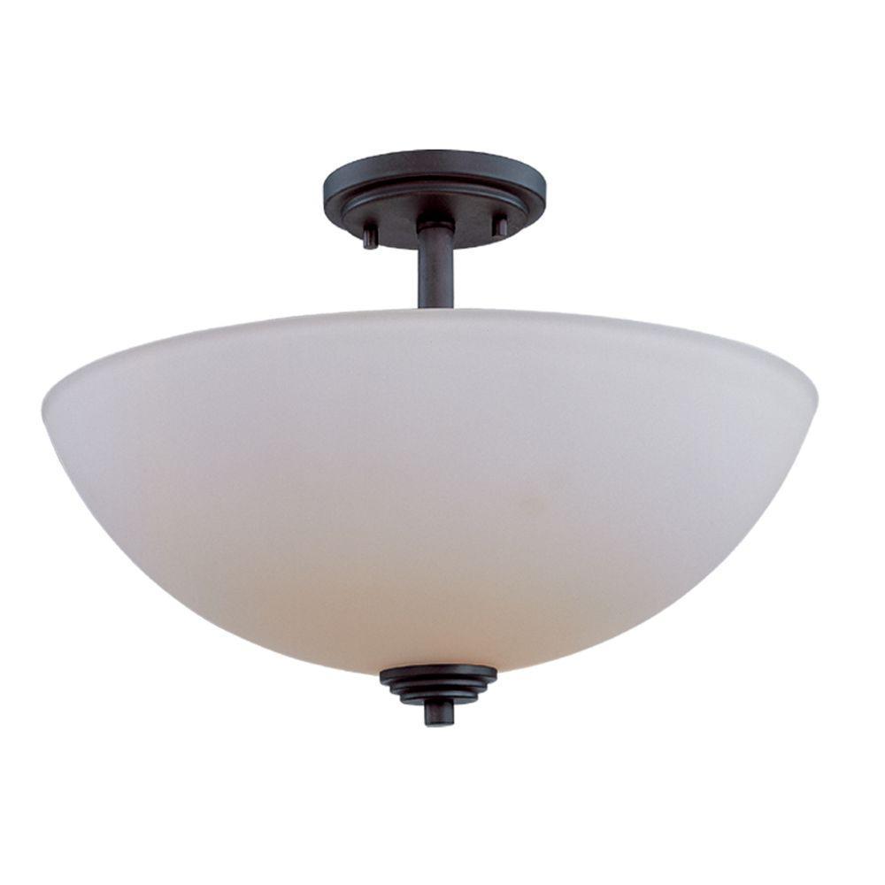Filament design lawrence light dark bronze incandescent ceiling