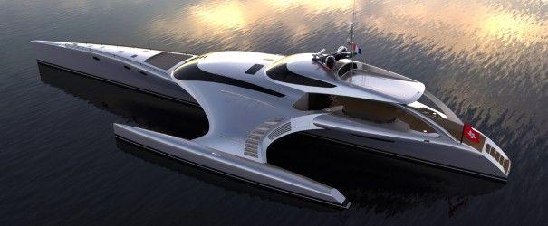 Futuristische Luxusyachten