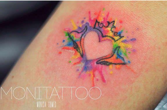 Lesbické sex tetování
