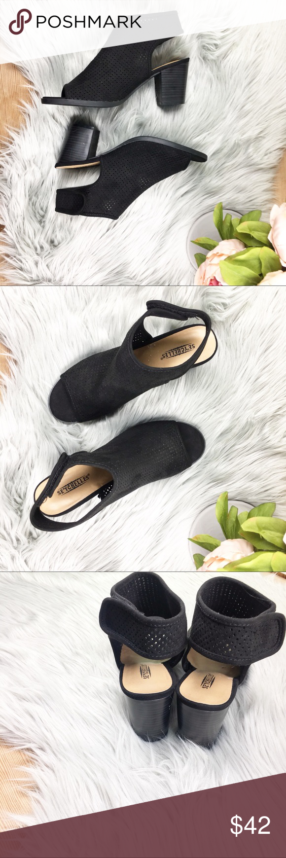 ec88cb12c4 ... new Seychelles open toe sandal with slingback and velcro closure. strap  adds an athleisure touch to these very modern and practical shoe. heel  heigh 3