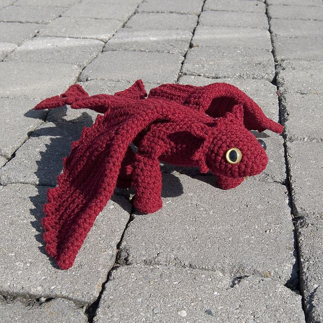 Ravelry: Amigurumi Dragon II pattern by Karla Fitch