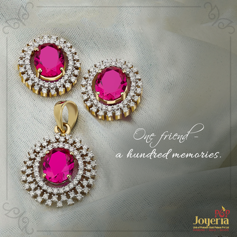 There are countless memories that your best friend and you share. Tell us about a jewellery related memory!