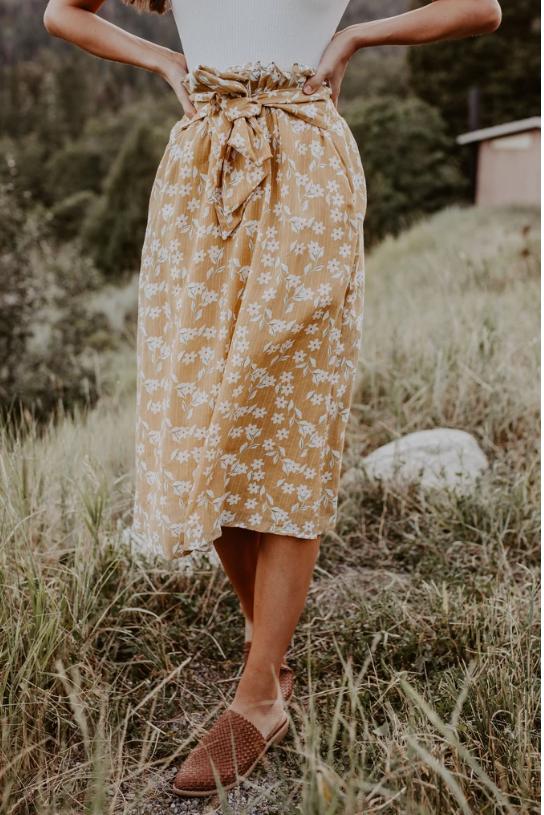 Vintage Garden Skirt