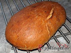 Rezept für ein Schwabenbrot - Weizenmischbrot aus Hefeteig #butterbierrezept