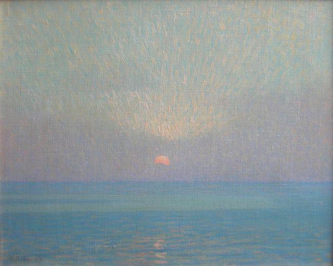 """Granville Redmond (1871-1935) - """"A Sunset Sacrament"""""""