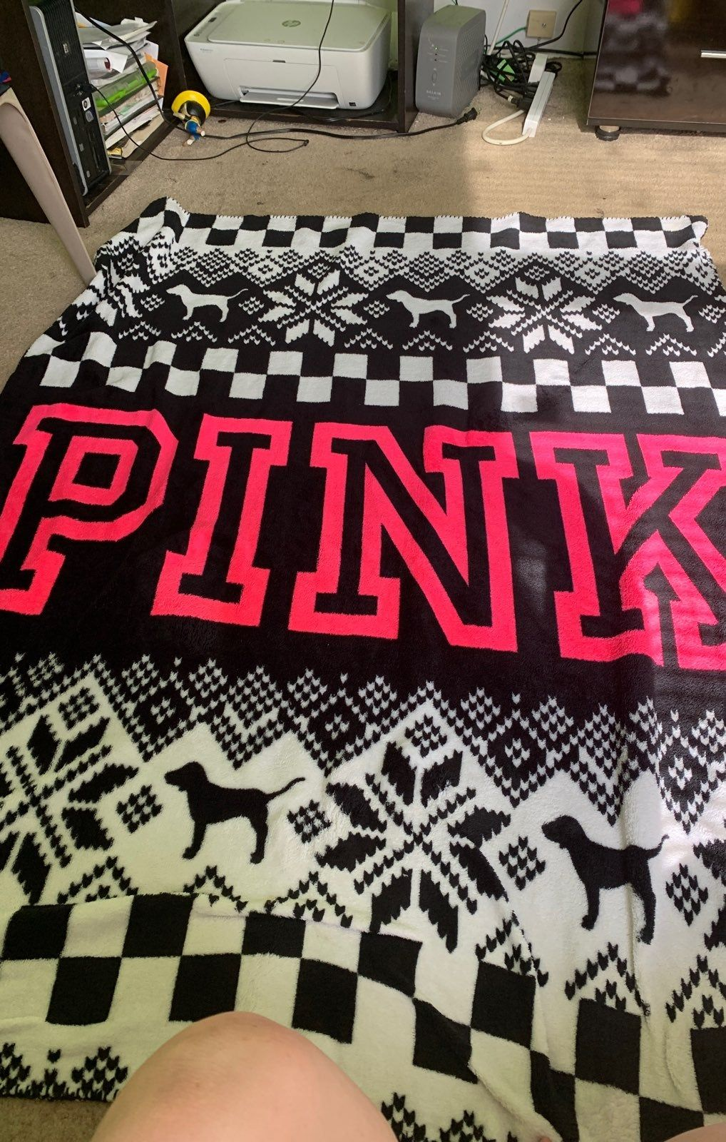 Pink Throw Blanket Brand New Without Tags Very Soft Material Pink Throw Blanket Pink Blanket Throw Blanket