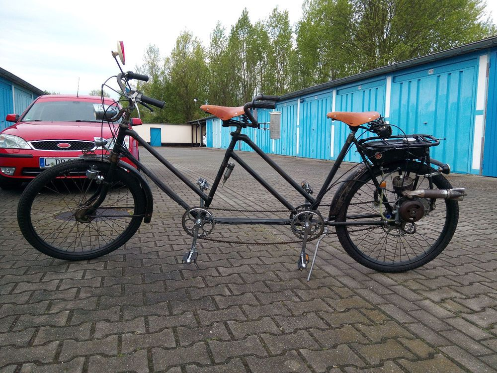 Tandem Baronia Victoria Fm38 Fahrrad Hilfsmotor Tandem Bicycle