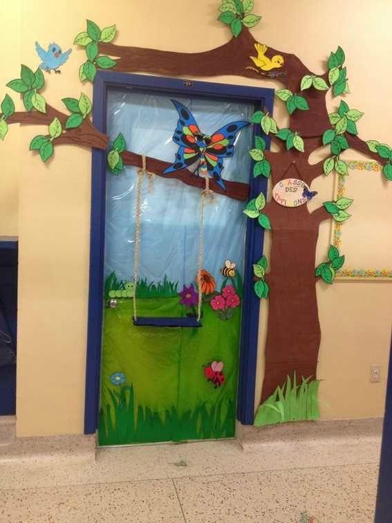 Animated Swinging Door : Des entrées accueillantes les cahiers de joséphine