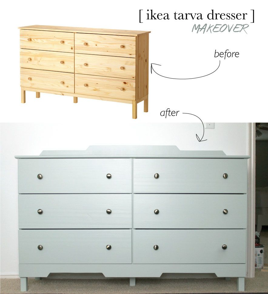 Ikea tarva dresser makeover ikea hack dresser and ikea Ikea furniture makeover