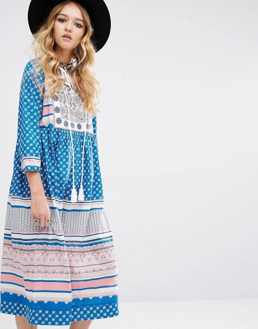 Image 1 ofGlamorous Festival Midi Dress