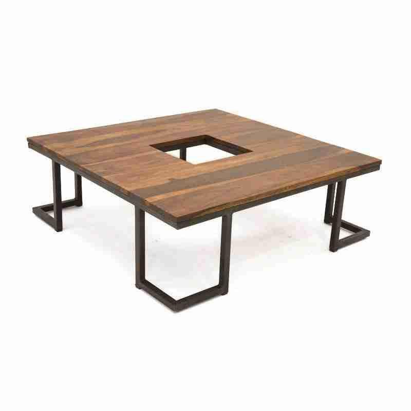 Table Basse Bois Et Fer Forge Nice Table Basse Design En Bois Et Metal Style Industriel Furniture Coffee Table Custom Furniture
