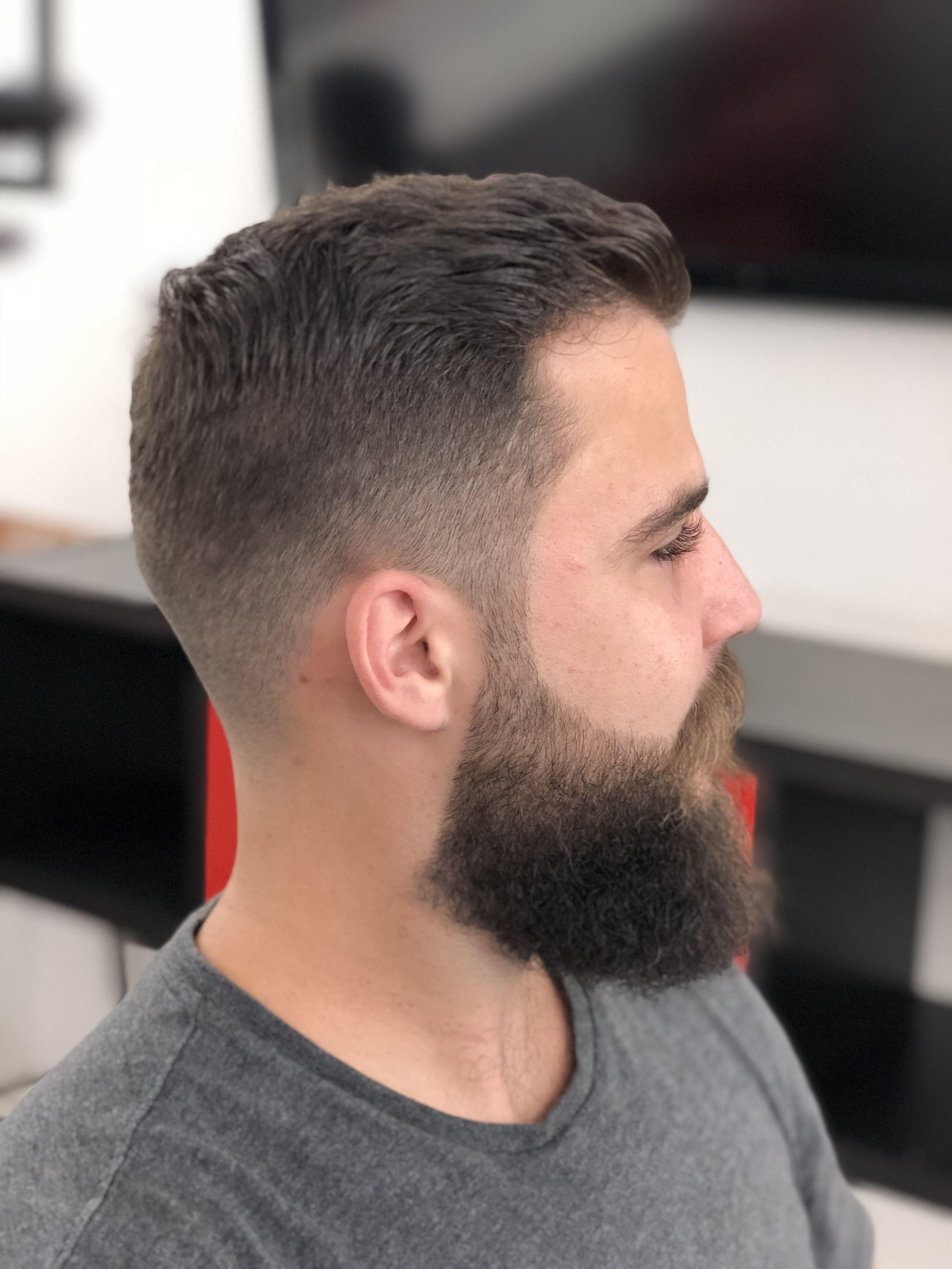 Very Short Hair And Beard Styles For Men