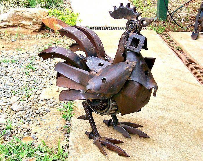 simple scrap metal art #Scrapmetalart | Metallkonst, Konst ...