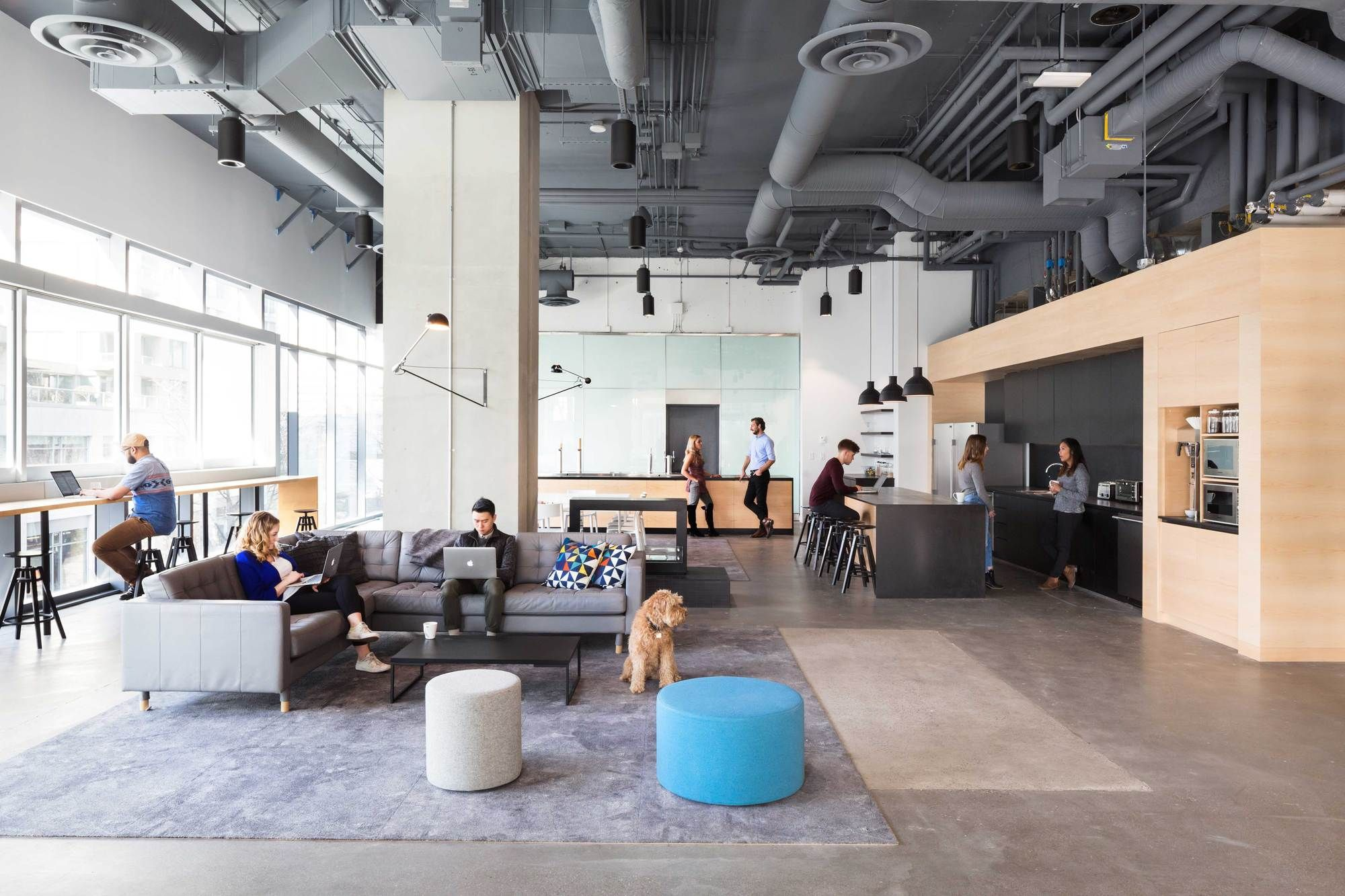 Bench Accounting Office Interiors / Perkins+Will