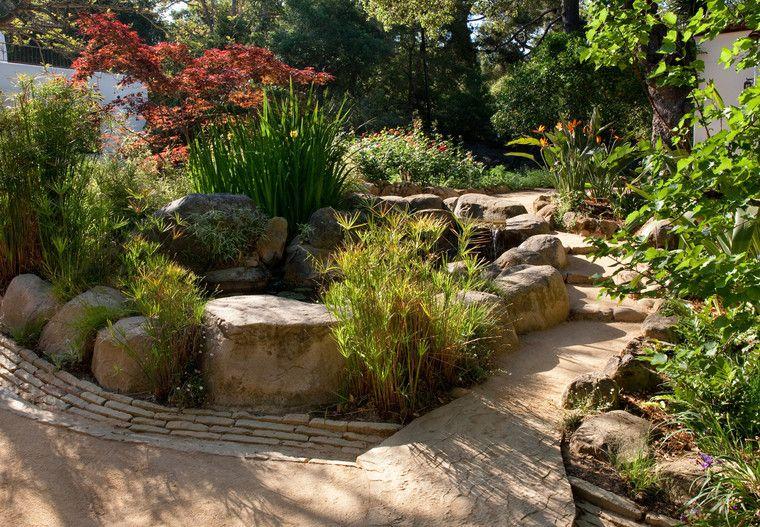 Grace Design Associates Inc Smoke Tree Desert Landscape Front Yard Garden Design