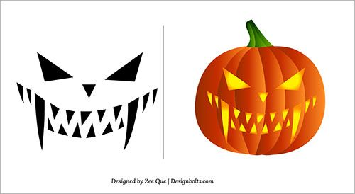 Halloween 2013 Free Scary Pumpkin Carving Patterns / Ideas ...