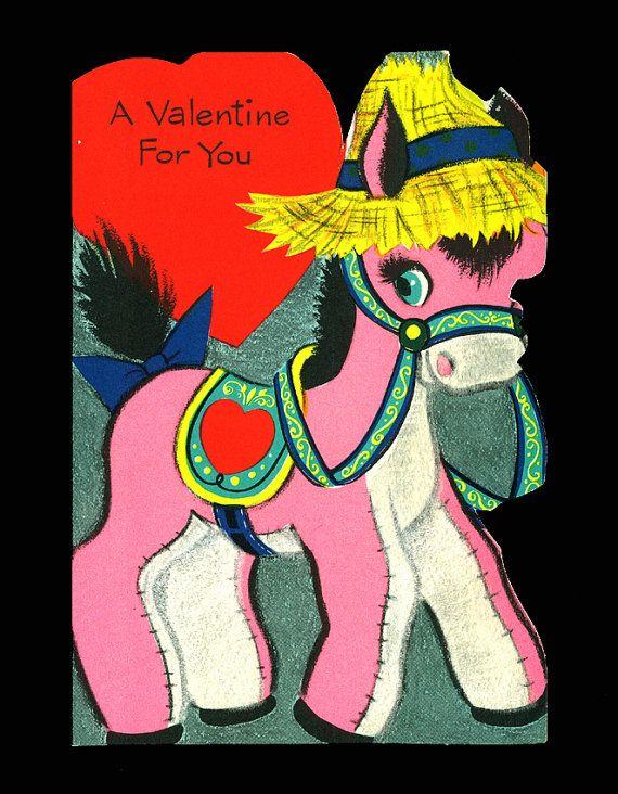 stuffed pink donkey