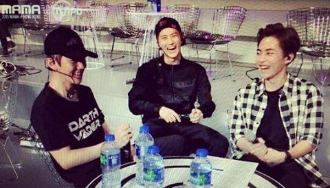 Baekhyun, Suho, Xiumin - 161124 Mnet MPD Instagram update