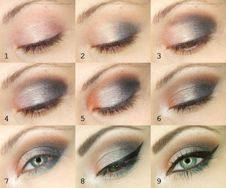 Subtle Smokey Eye Evening Makeup Tutorial How Tos Tutorials