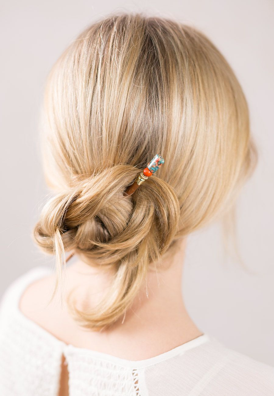 A fun braided hairstyle beautifully secured with kenia a new
