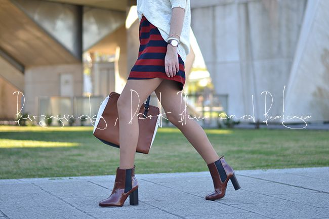 Love the striped skirt! Can't decide whether I'd prefer it looser or bodycon.