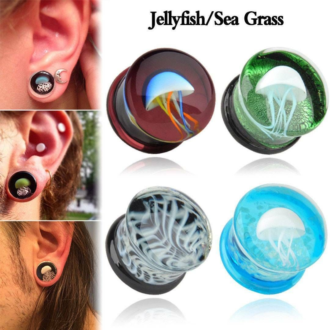 Mystery Flesh Tunnel Ear Plugs Bundle 6mm 25mm what will you get...?