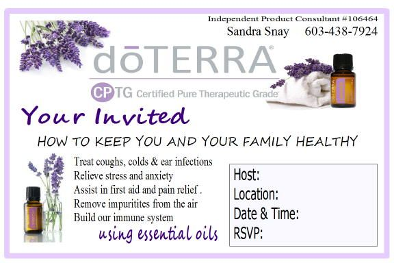 Pin By Mitzi O Hearn On Doterra Doterra Business Cards Doterra Business Essential Oil Class Invitation