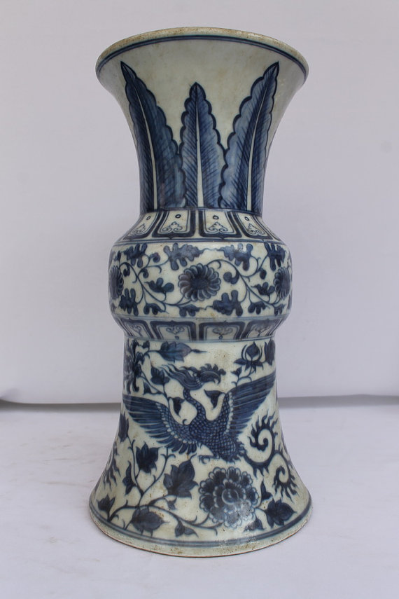 Items Similar To Antique Chinese 15th C Ming Dynasty Blue White
