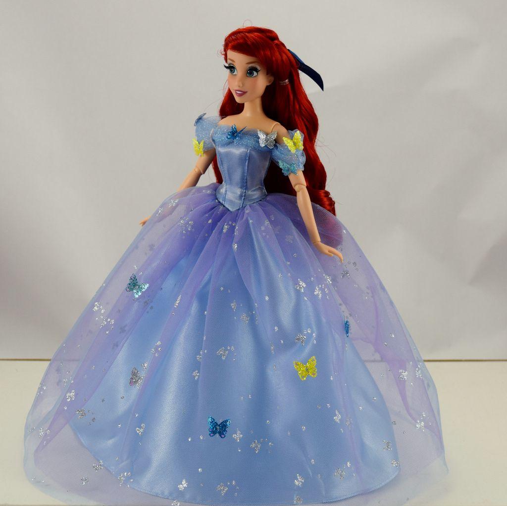Disney Princess Royal Ball Cinderella Doll: Fairytale Designer Ariel Doll In Royal Ball Cinderella's