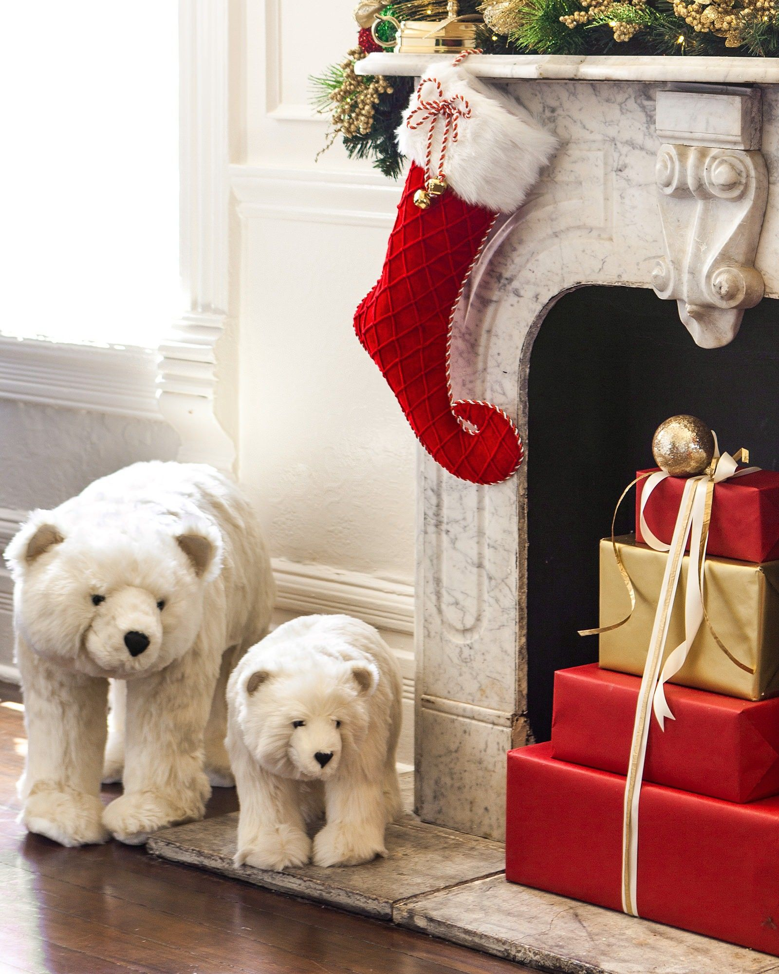 Standing Christmas Polar Bear | christmas decor | Pinterest ...
