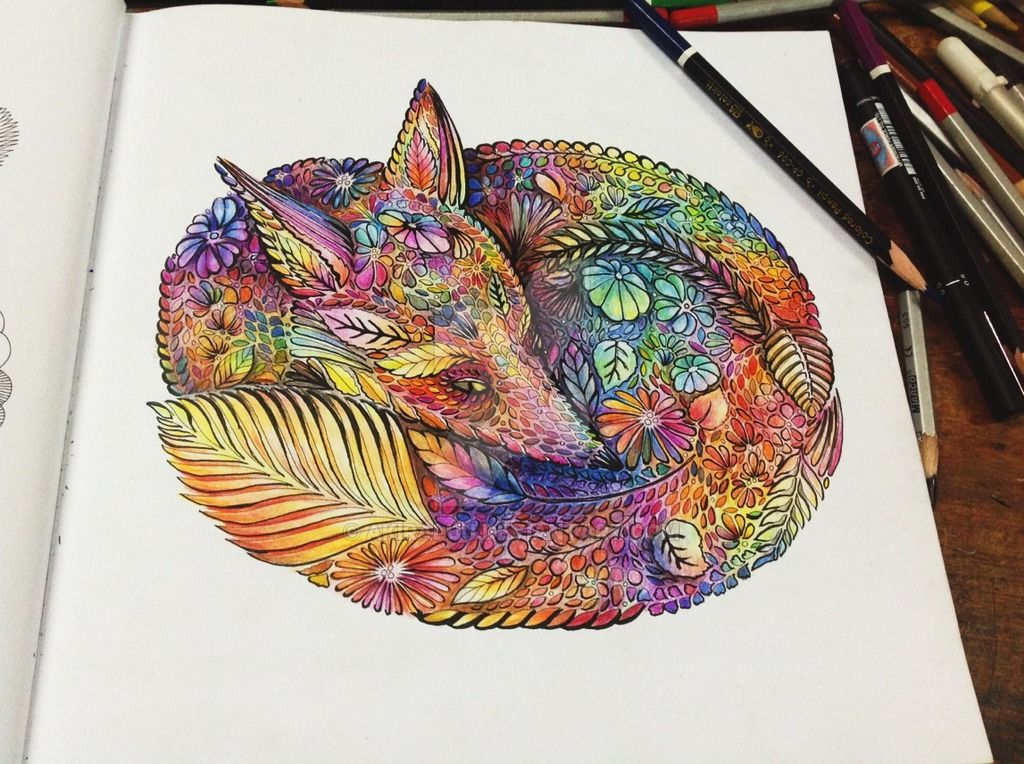 Coloring Book Millie Maronttas Animal Kingdom By Akiraluudeviantart On DeviantArt