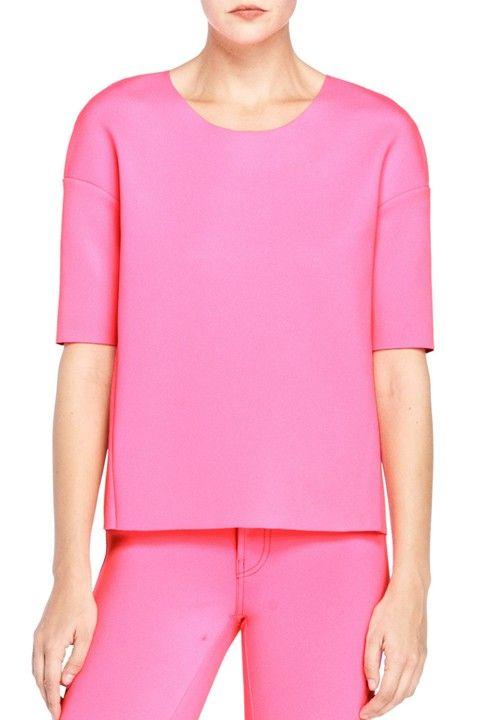 ⚡️Neon pink crop tank   Crop tank, Neon pink, Clothes design