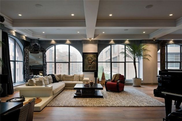 Superbe appartement sur Tribeca | Luxury loft, Round top and Apartments