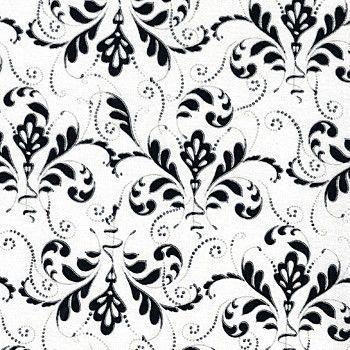 Black & White Swirl 112-24381