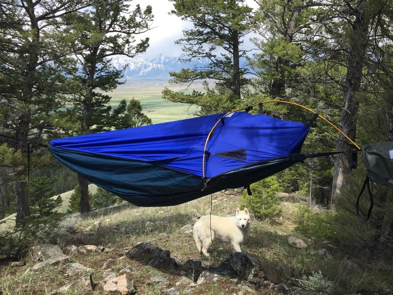 Medium image of alpine hammock   alpine hammock   bivy that can hang like a hammock