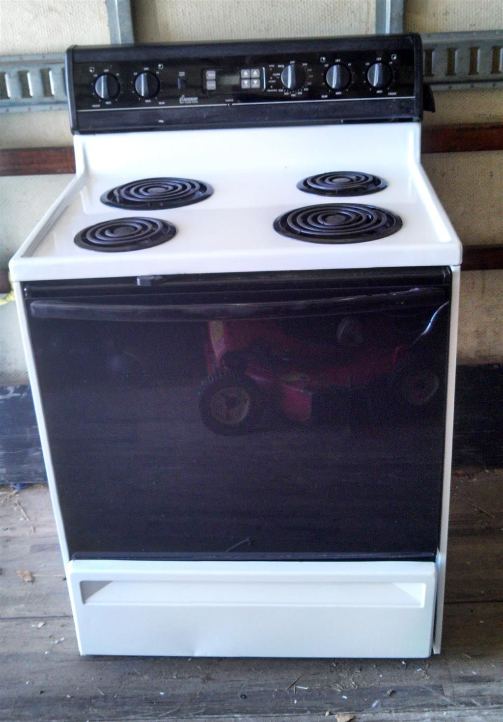 Amana Electric Range W Self Cleaning Oven Self Cleaning Ovens