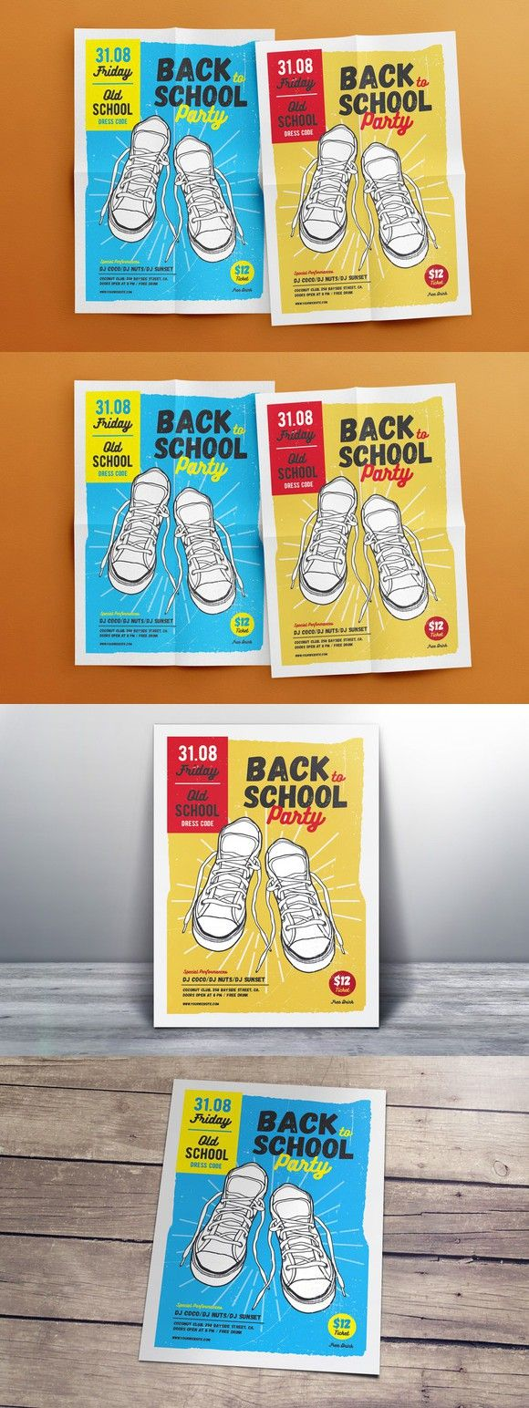 Back To School Flyer Template  Flyer Templates