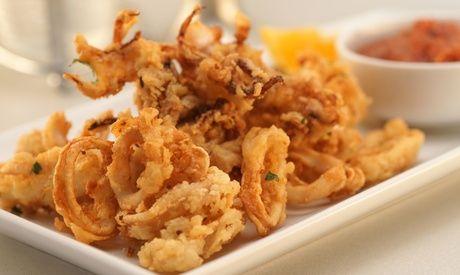 Uno o 2 kg di fritto misto di pesce con  ad Euro 24.90 in #Groupon #Fish restaurant1