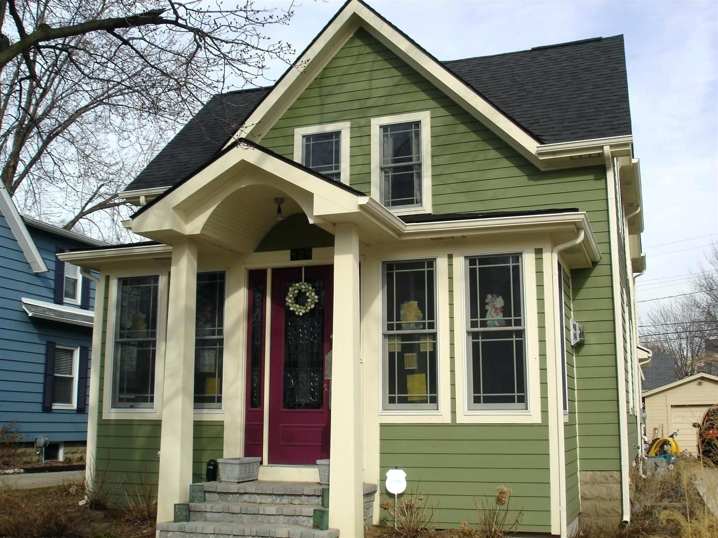 Brick Vinyl Siding Red And Color Combinations Home Depot Look