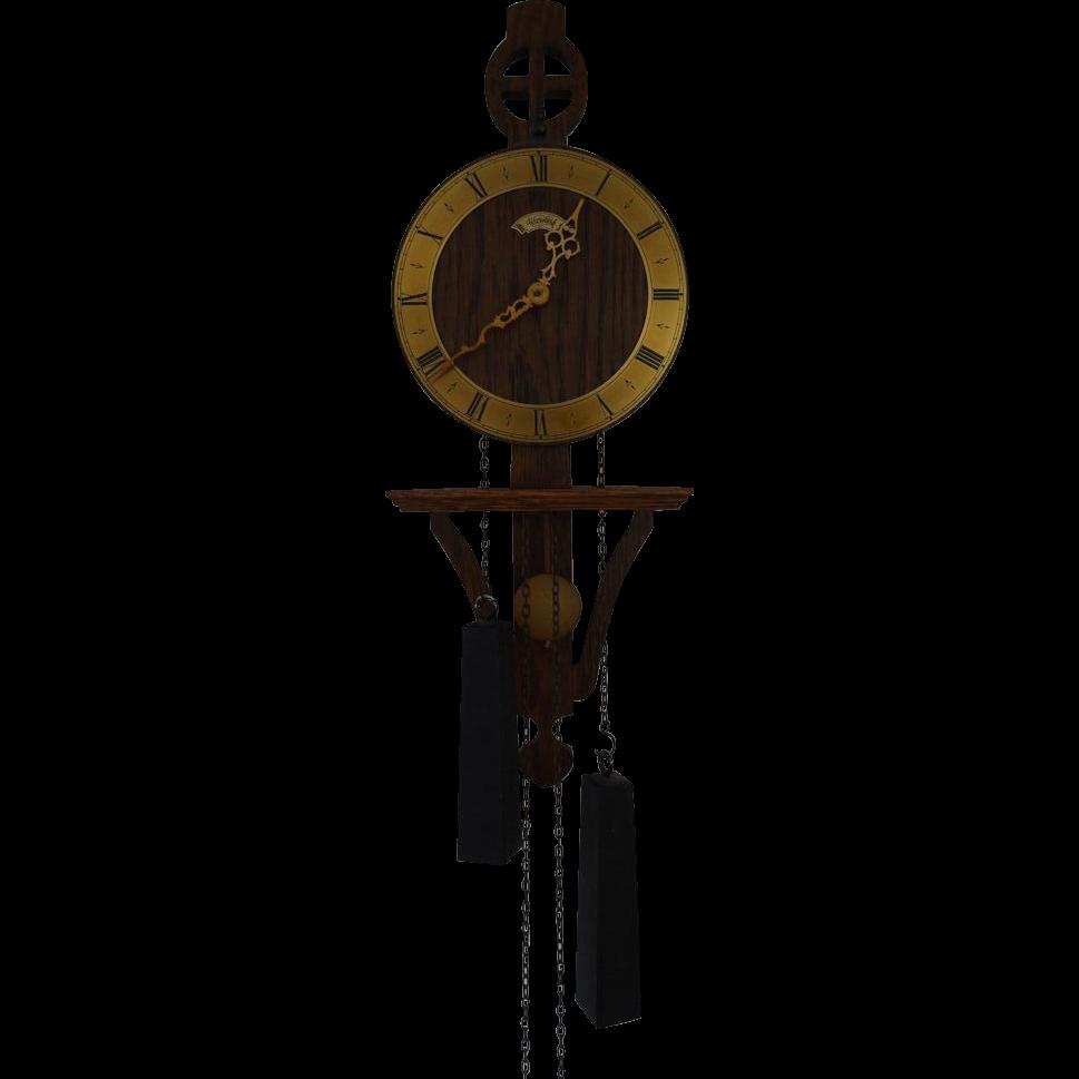 Am americana country wall clocks - Vintage Warmink Wuba Dutch Wall Clock 8 Day Movement