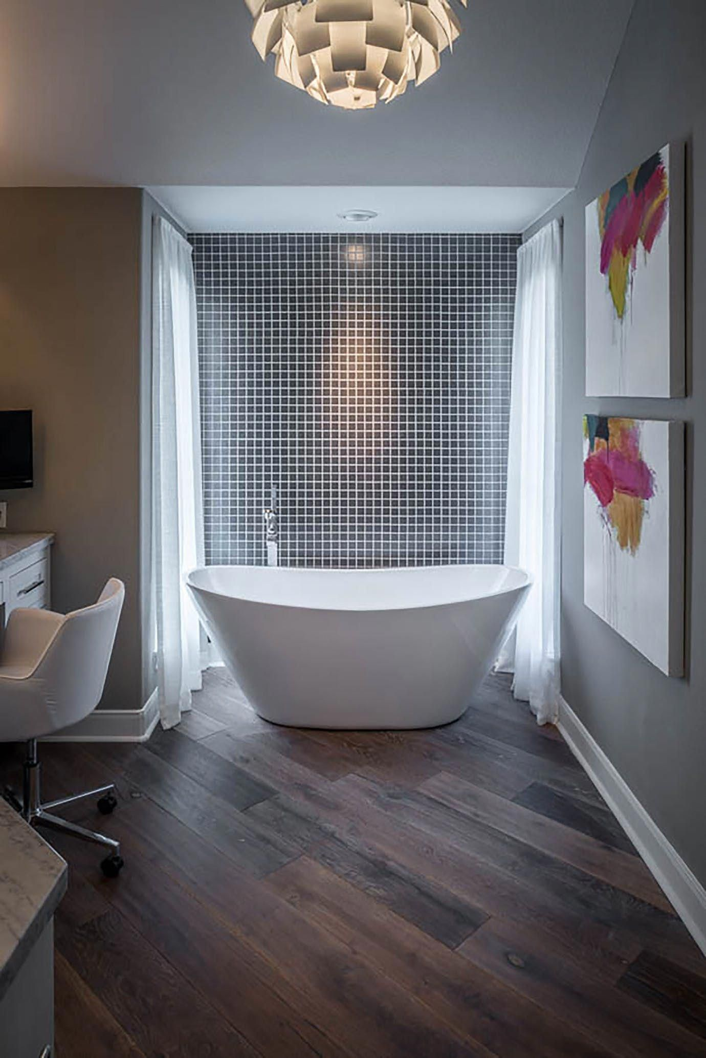 Naturally lit master bath bath contemporary by the design firm contemporaryinteriordesignbathroom