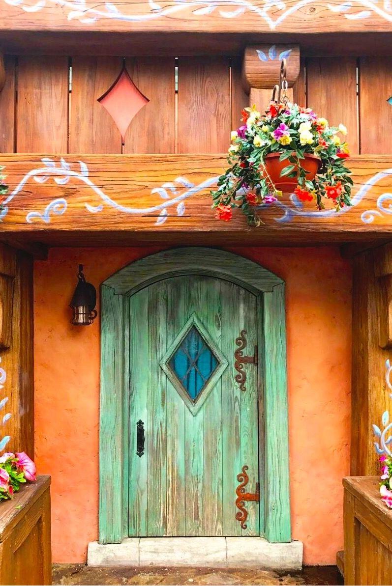 Magic Kingdom Walt Disney World Orlando Florida Doors Portes