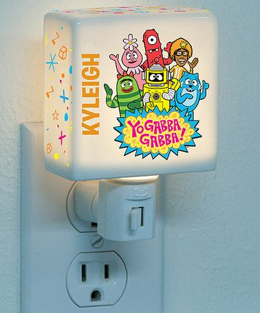 This Yo Gabba Gabba! Personalized Night-Light by Yo Gabba Gabba! is perfect! #zulilyfinds