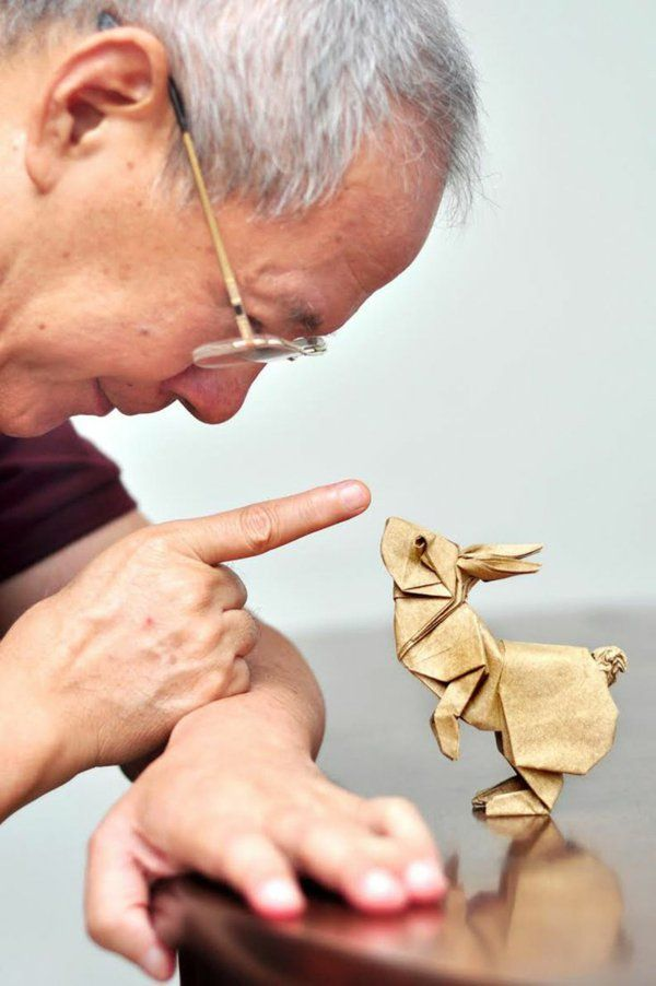 Origami Hase falten – Anleitung und inspirierende Osterdeko Ideen