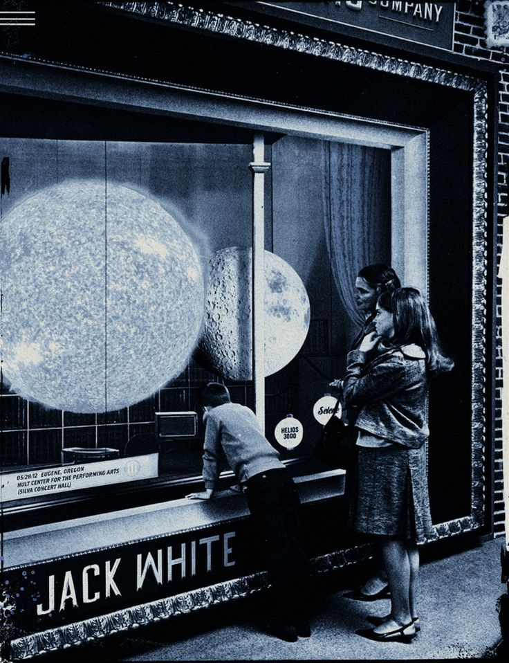 Jack White 2012 Tour Poster Jack White Tour Posters Concert Posters