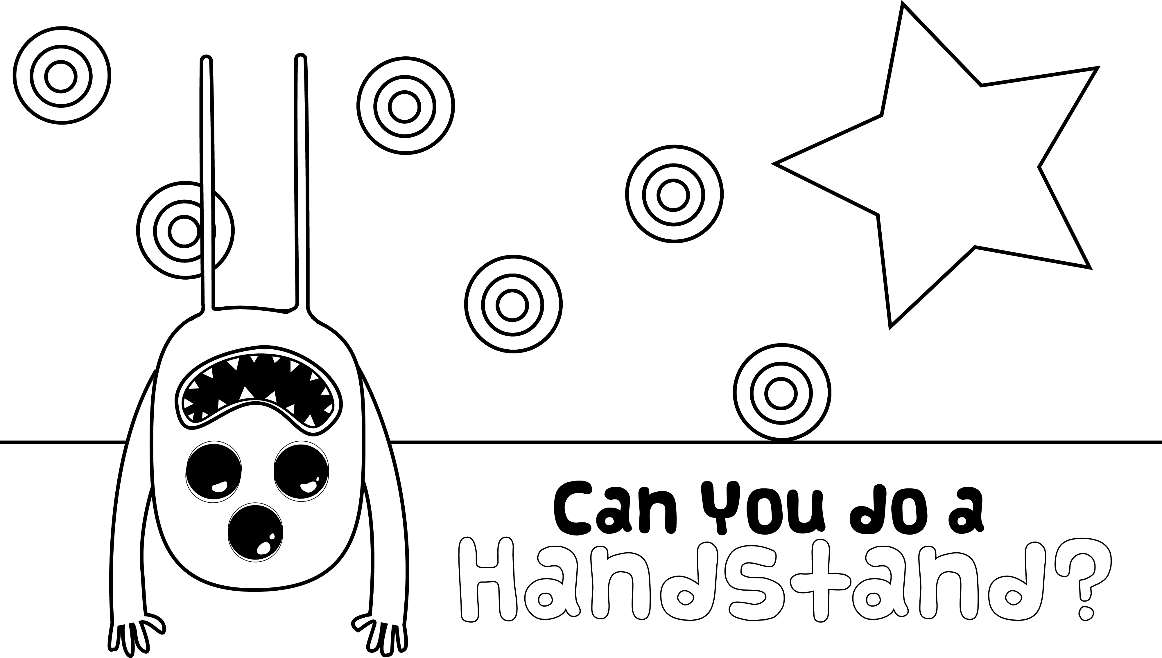 I get frustrated at the crappy Gymnastics Coloring pages out there ...