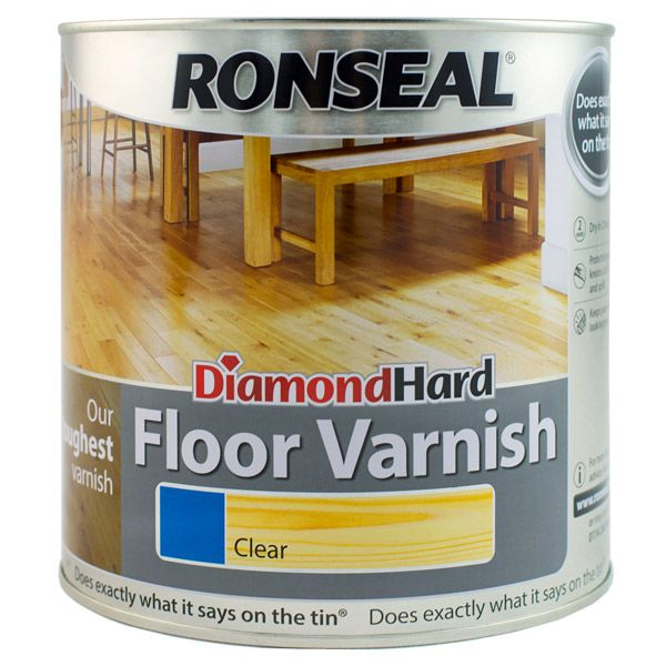 Ronseal Diamond Hard Floor Varnish Flooring How To Varnish Wood