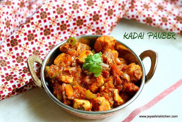 ingredients recipe paneer recipes side dishes kadhai paneer on hebbar s kitchen kadai paneer id=37049