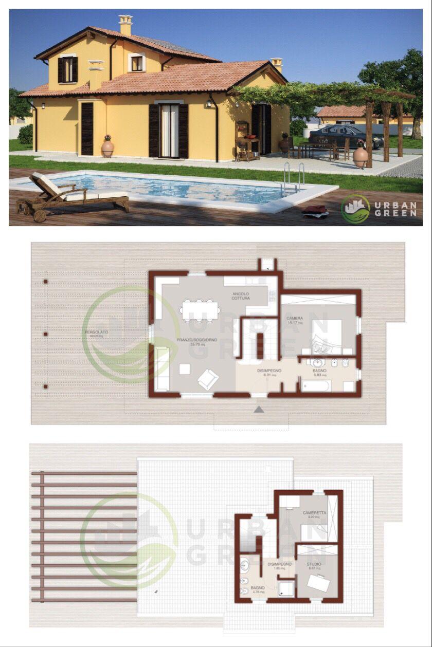 Casa In Legno Bipiano Urb03 Urban Green Case Di Legno Stili